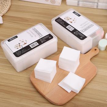 态美 1000片盒装多功能卸妆棉化妆棉一次性纯棉洁面巾