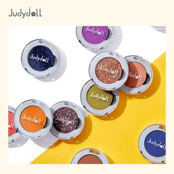 Judydoll橘朵柔光幻彩可扣盘单色眼影新款盛夏限定