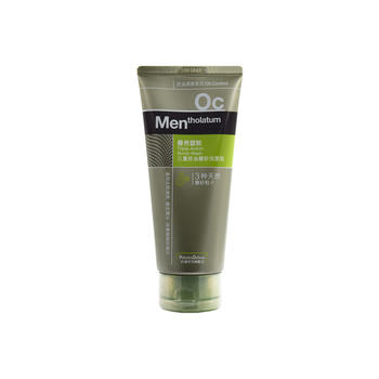曼秀雷敦(Mentholatum)三重控油磨砂洁面乳100g