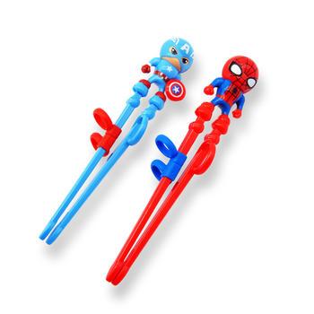 迪士尼儿童筷子宝宝练习筷家用小孩训练筷一段男孩女