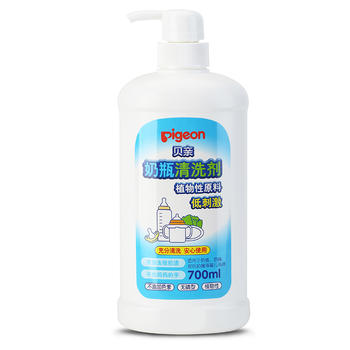 贝亲奶瓶清洗剂700ml 植物性原料 充分清洁