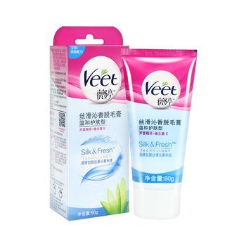 Veet薇婷丝滑沁香脱毛膏 温和护肤型60g