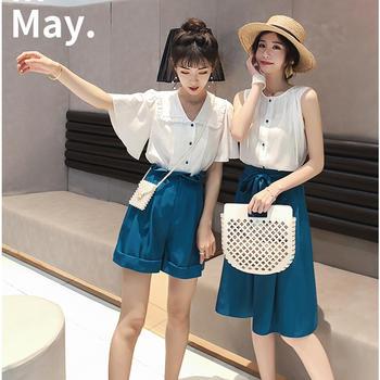 轻熟风法式复古裙御姐套装女神范2019新款夏季装