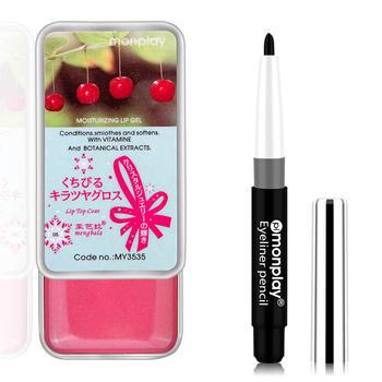 【赠品】水果修护唇蔻8.5g+丝滑自动眼线笔0.5g