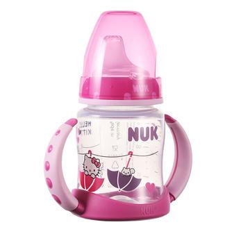 NUK 宽口PP学饮杯Hello Kitty印花德国制造品质保证