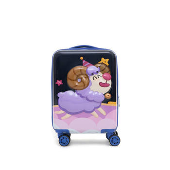 杯具熊 儿童万向轮17寸小型旅游可爱卡通轻便拉杆箱