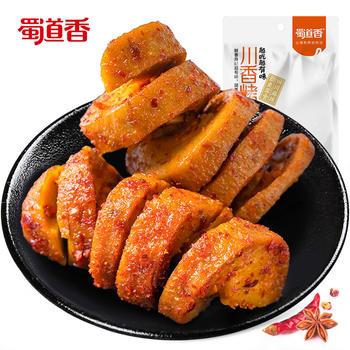 蜀道香 川香烤面筋26g*3袋 小包装  零食小吃辣味面筋