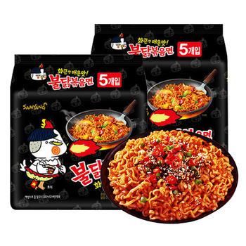 韩国三养超辣火鸡面140g*10包鸡肉味拌面泡面方便面