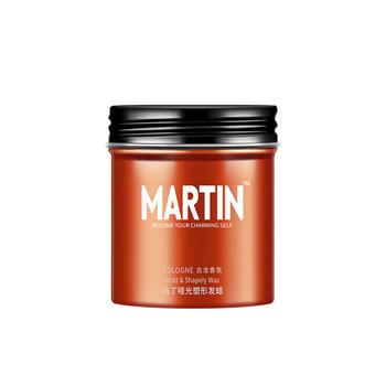马丁古龙香氛发蜡男士定型自然蓬松哑光发泥持久造型