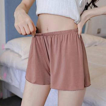 安全裤防走光外穿三分打底裤居家纯色大码宽松短裤
