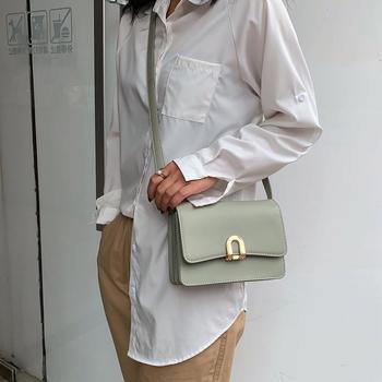 雅涵韩版新款简约时尚女包单肩包百搭潮流斜挎小包包