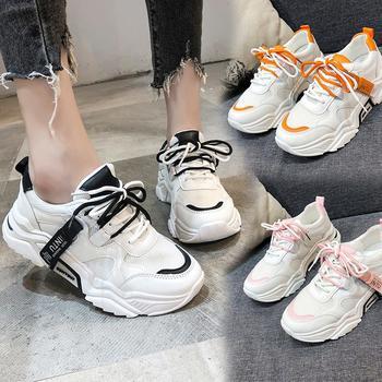 蝶恋霏秋季新品时尚百搭厚底老爹鞋舒适运动鞋