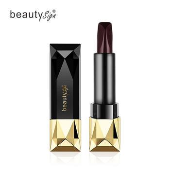 【买一送一】美人符玫瑰金钻三色口红持久保湿唇膏
