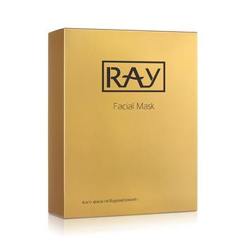 泰国ray面膜黑黄金色补水保湿滋润提亮肤色20片
