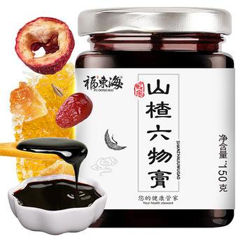 福东海 山楂六物膏 蜂蜜冰糖山药麦芽茯苓山楂开胃膏