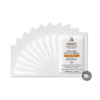 美国•科颜氏 (Kiehl's)清爽防晒隔离乳液 SPF50+PA+++ 1.5ml*10
