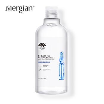 Mergian/美肌颜玻尿酸精华水紧致修护补水保湿 500ml