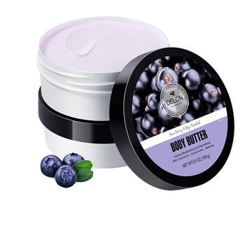 Delon 滴朗 巴西莓身体乳196g 抗氧舒缓 补水保湿