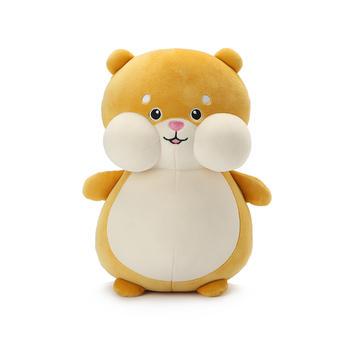 柏文熊玻尿酸鼠公仔仓鼠玩偶抱枕毛绒玩具鼠年吉祥物娃娃年会礼品