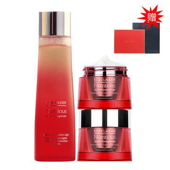 雅诗兰黛(Estee Lauder)红石榴护肤/套装 鲜活营养系列护肤三件套装