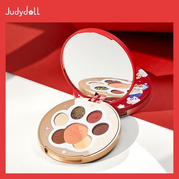 Judydoll橘朵喜气猫鼠联名限定猫爪综合盘眼影腮红珠光哑光高光