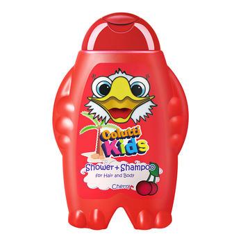 德露宝 婴儿沐浴露洗发沐浴二合一(樱桃味)300ml 洗护儿童洗发水
