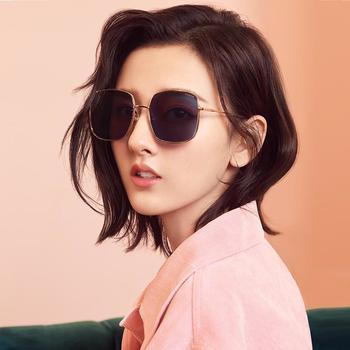 帕森太阳镜女宋祖儿明星同款金属时尚方框尼龙镜片潮墨镜新款92028