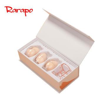 日本Rarapo美妆蛋不吃粉化妆蛋蛋粉扑彩妆蛋海绵蛋3只盒装送蛋架