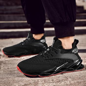 跨洋男士夏季透气网鞋椰子鞋防滑减震健身跑步鞋