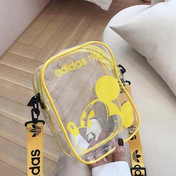麦尔本透明果冻包包ins夏天新款PVC塑料防水包卡通单肩斜挎个性小包