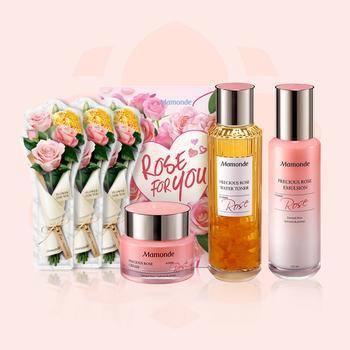 梦妆蔷薇宠爱礼盒 蕴含大马士革蔷薇精粹,令肌肤澎弹水润