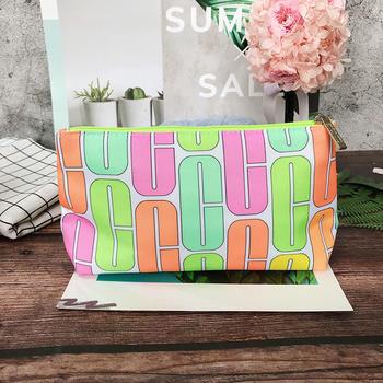 倩碧缤纷化妆包(大)可作收纳包或化妆包(样式,款式随机发货)