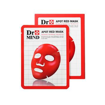 【国内现货】dr.mind达克蔓净肤红面膜补水保湿舒缓镇静清洁泥膜