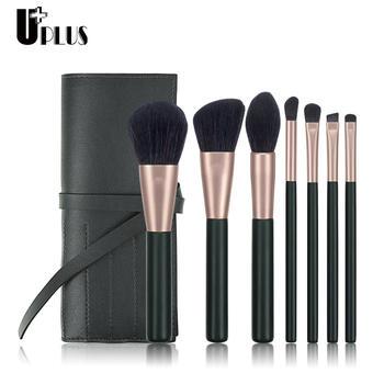 优家(UPLUS)7支星芒化妆刷套装 送收纳包 化妆套刷