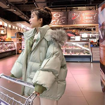 棉衣女短款韩版2020新款羽绒棉服宽松面包服加厚学生棉袄爆款外套