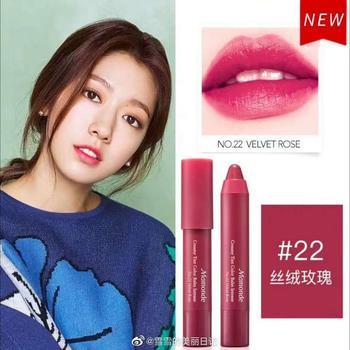 Mamonde韩国梦妆花心绒唇膏笔2.5g 22#丝绒玫瑰