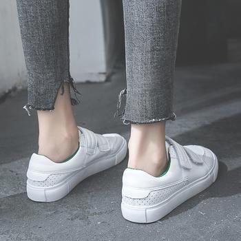 艾微妮韩版休闲学院风百搭小白鞋